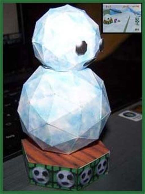 Papercraft Snowman - mario papercaft headless snowman paperkraft net
