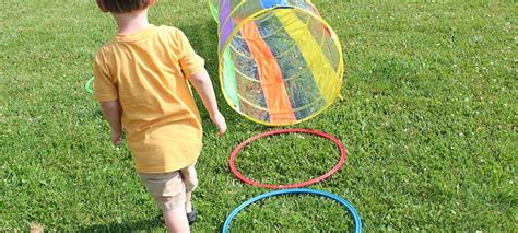 let kids build a backyard obstacle course with free