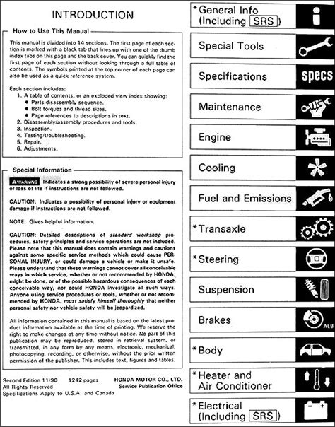 car repair manuals online pdf 1997 honda prelude on board diagnostic system 1997 honda accord haynes repair manual pdf
