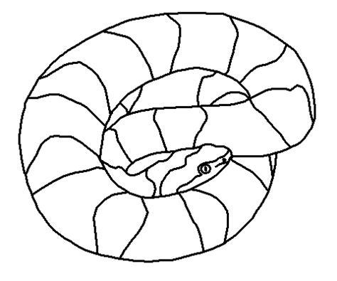 Copperhead Snake Coloring Page | copperhead colouring pages