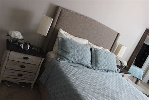 home goods headboards diy upholstered headboard the style files