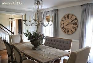 Antique White Dining Room Set dear lillie our updated dining room with a new farmhouse