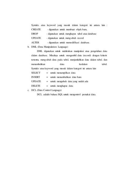 laporan praktikum membuat sabun laporan praktikum modul 2 membuat table primary key
