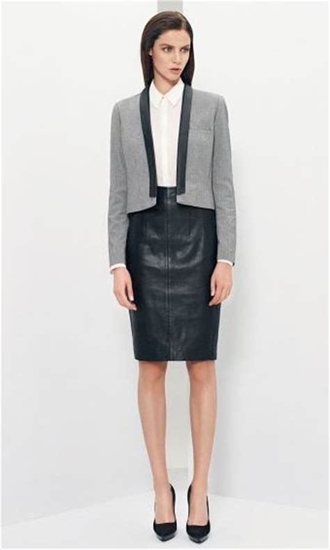 how to wear black leather skirt winter leather skirt