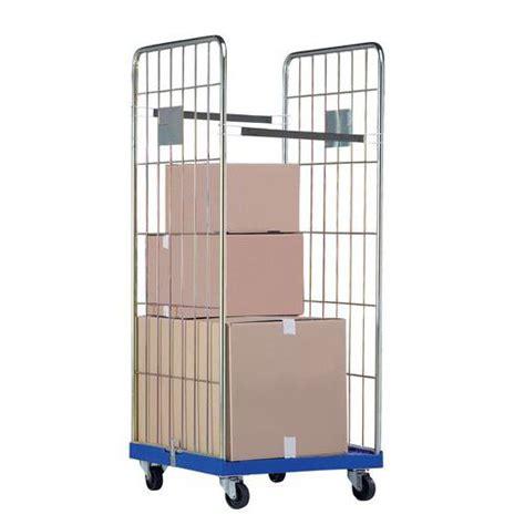 portata container roll container base in plastica portata 500 kg