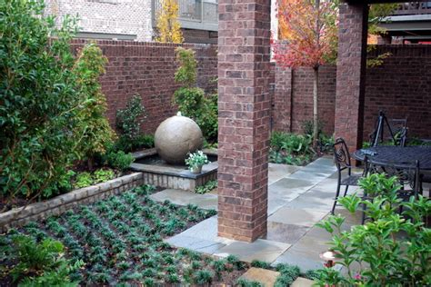Patio Features Water Feature Traditional Patio Atlanta By Charles