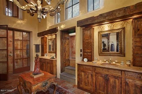 Rustic Master Bathroom Ideas Rustic Master Bathroom With Raised Panel High Ceiling In Tucson Az Zillow Digs Zillow