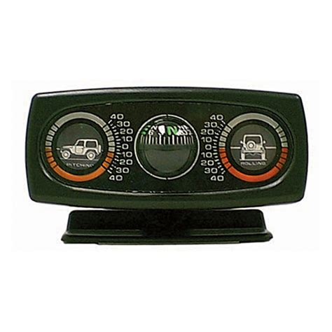 Jeep Inclinometer Roll And Pitch Inclinometer With Compass Jeep Wrangler Cj