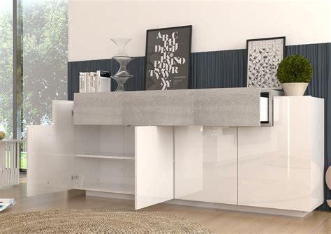 mobile soggiorno bianco madia moderna biella mobile soggiorno bianco e rovere grigio