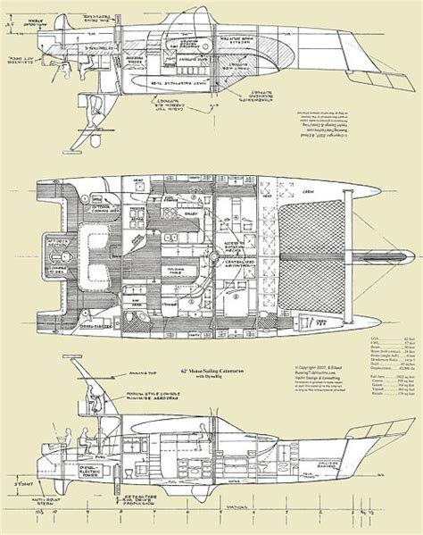 catamaran boat layout 53 best boats layouts images on pinterest boat