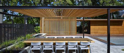 Oak Trellis A Backyard Pavilion And Pool For The Perfect Escape