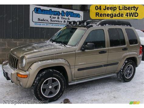 2004 jeep liberty light 2004 jeep liberty renegade 4x4 in light khaki metallic
