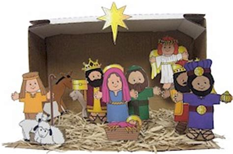 printable paper nativity scene christmas time free printable nativity for christmas