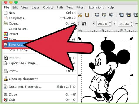 inkscape tutorial bitmap trace how to trace an image using inkscape 14 steps with pictures