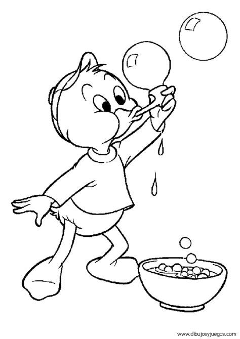 dibujo del el pato donal dibujos de sobrinos de donald 003 dibujos y juegos para