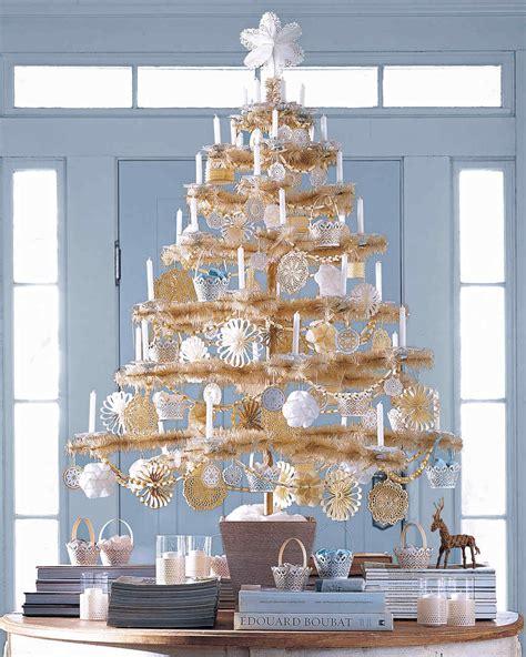 christmas tree ivory garland ideas garlands martha stewart