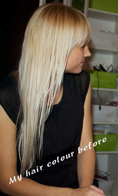 photos of extreme platinum blond hair my hair colour disaster or l oreal preference les