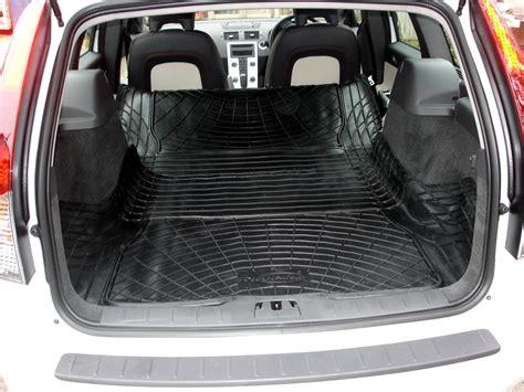 volvo  estate rubber boot mat liner  cargo area mat  loading mat ebay