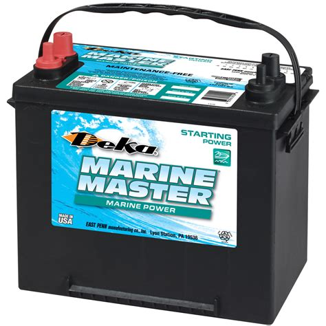 boat battery use deka 12 volt 1 000 marine battery at lowes