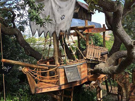 Backyard Adventures Treehouse Tiny Town Studios Tom Sawyer Pirate Ship Treehouse