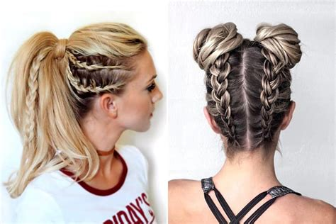 15 sporty hairstyles that will make you stand out