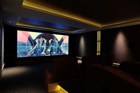 4k uhd takes basement cinema to the next level inside ci