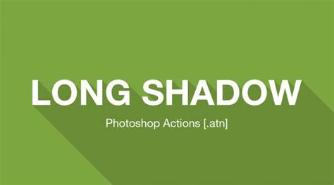 photoshop template long shadow long shadow generator photoshop action atn web3canvas