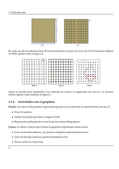figuras geometricas y su descripcion actividades con geoplano