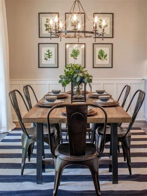 Farmhouse Dining Room Table Sets 17 Best Ideas About Farmhouse Table Chairs On Pinterest Farmhouse Chairs Farmhouse Dining