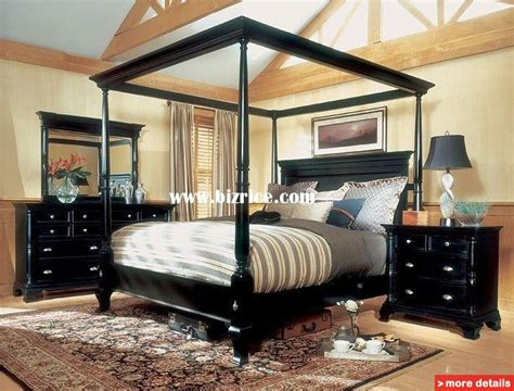 King Canopy Bedroom Sets Sale magnussen hastings king size four poster canopy bed set