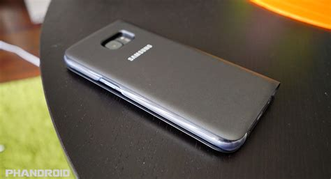 samsung lade led official galaxy s7 edge led flip and s view cases