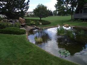 image gallery large backyard pond designs