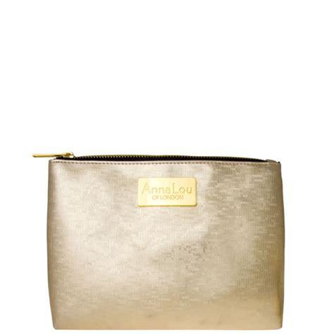 Lalang Cosmetic Makeup Bag Gold lou of cosmetic bag gold