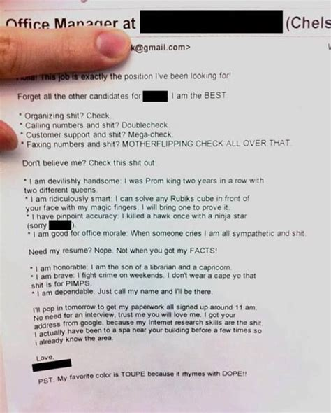 Best Job Resume Ever by Best Resume Ever Job Search Pinterest