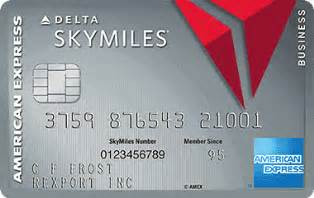 delta american express business card platinum delta skymiles american express open