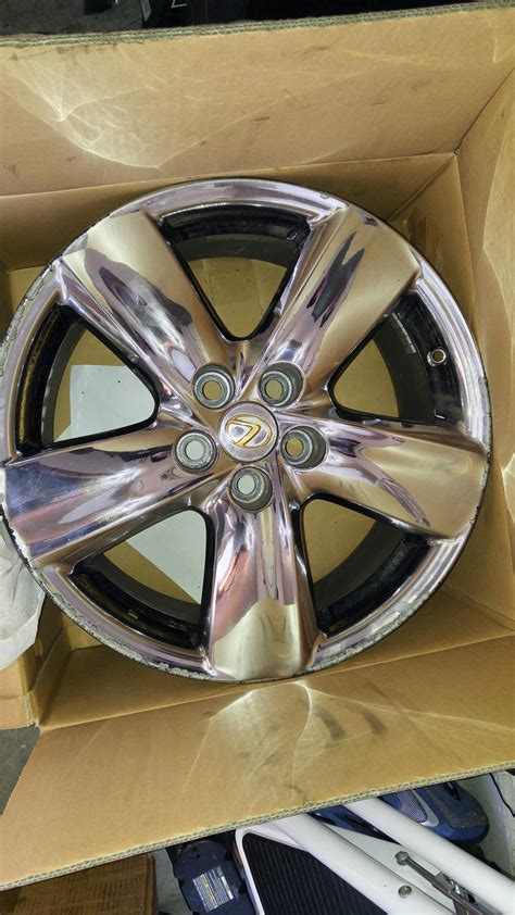 chrome lexus rims ga best offer chrome 5 spoke ls 460 wheels club lexus forums