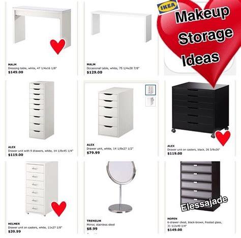 makeup table ikea malaysia 112 best ikea alex images on