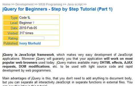 jquery tutorial step by step page not found error 404 web design professionals