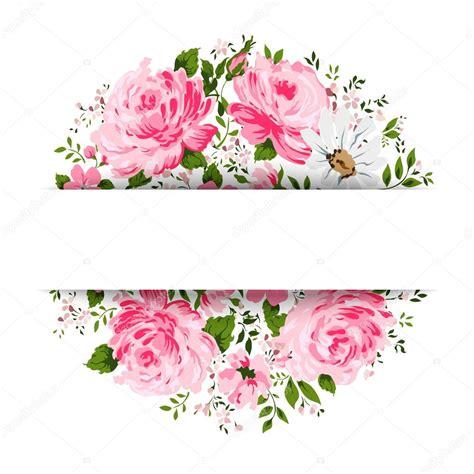 imagenes vectores gratis vintage tarjeta vintage con flores rosa peon 237 a manzanilla