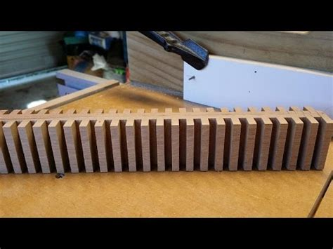 table saw box joint jig without dado box joints without a dado blade doovi