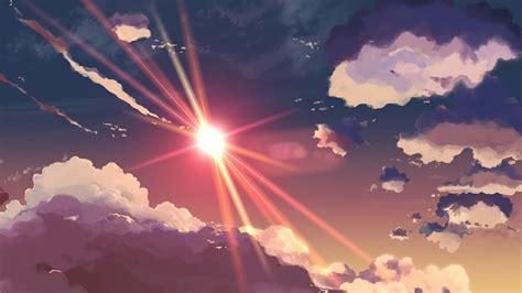 5 centimeters per second 5 centimeters per second anime makoto shinkai skyscapes