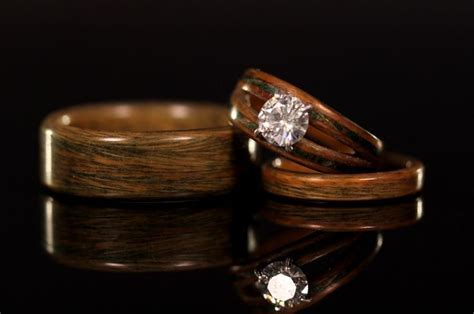 1000  ideas about Wood Engagement Ring on Pinterest   Wood