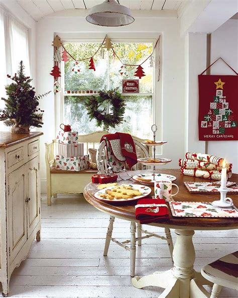 shabby in love christmas table