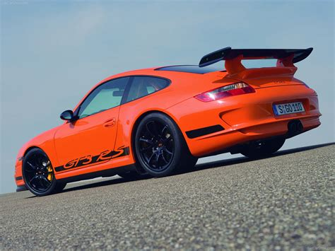 orange porsche 911 2007 orange porsche 911 gt3 rs wallpapers