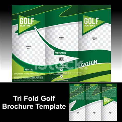 golf brochure template tri fold golf brochure template stock photos freeimages