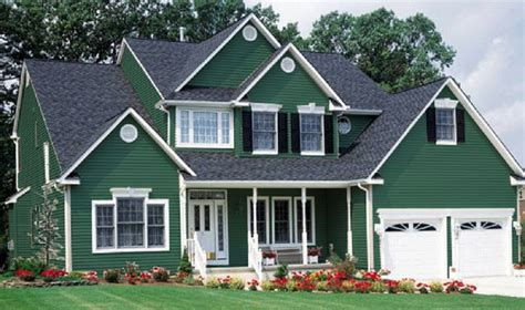 Green House Paint | you seriously need these exterior paint colors midcityeast