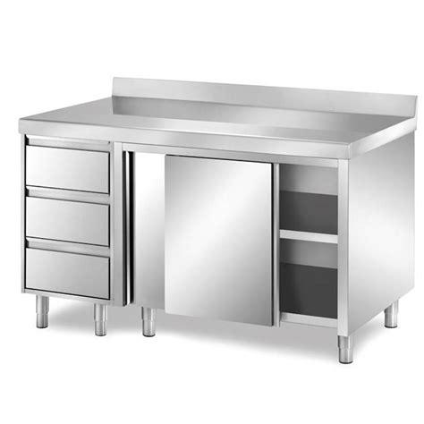 tavolo acciaio inox prezzi tavoli e pensili in acciaio inox attrezzature settore