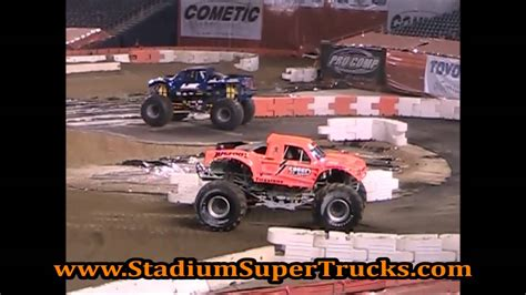 bigfoot monster truck videos youtube speed energy bigfoot monster truck qualcomm stadium 5 4