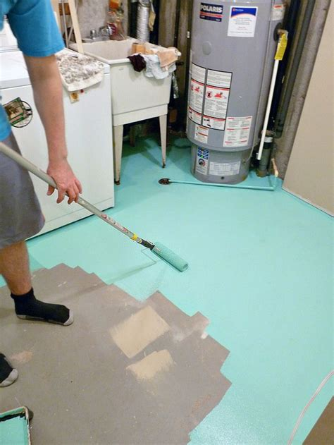 Garage Floor Paint In Basement 25 Best Ideas About Basement Storage On