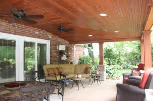 patio ceiling ideas covered patio with vaulted ceiling ideas rustic patio cleveland by jm design build